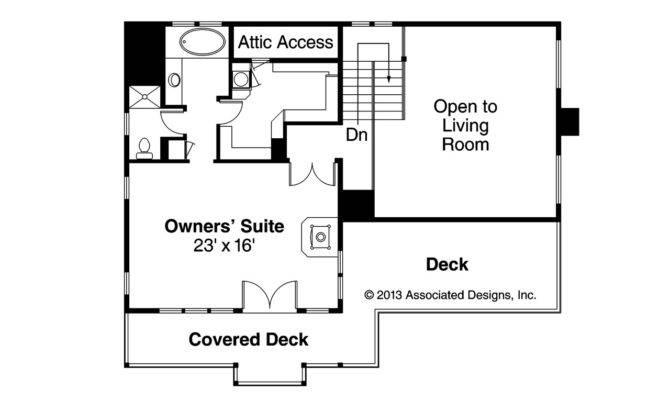 Lodge Style House Plan Avondale Floor