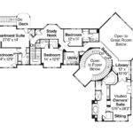 Lodge Style House Plan Bentonville Floor