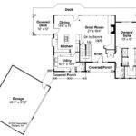 Lodge Style House Plan Mariposa Floor