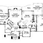Lodge Style House Plan Timberfield Floor