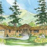Lodge Style House Plans Viewcrest Associated Designs