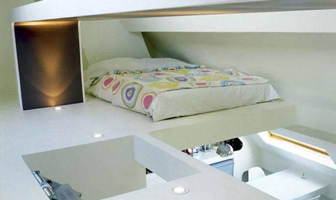 Loft Bedroom Ideas Small Decorative Space Saving Apartment Layouts