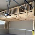 Loft One Side Garage Thank Goodness Hangs