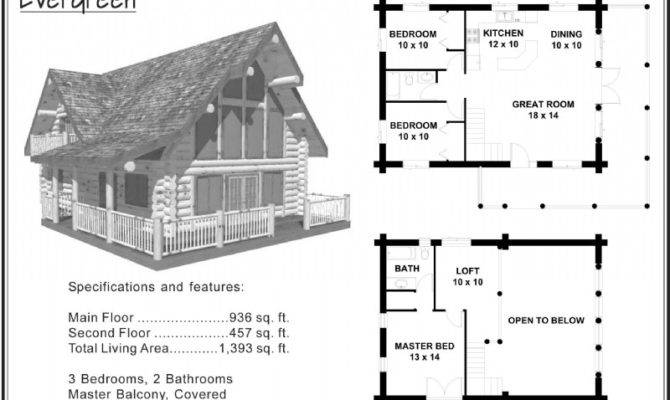 Log Cabin Floor Plans Further Small Homes