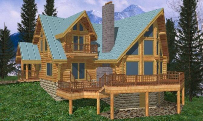 Log Cabin Home Design Coast Mountain Homes