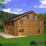 Log Cabin House Plan Alp Chatham Design Group Plans