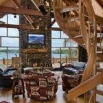 Log Cabin Interior Design Decor Ideas