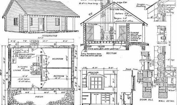 Log Cabin Plans Best Home Totally