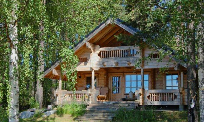 Log Chalet Style House Plans