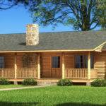 Log Home Cabin Floor Plans Southland Homes Single Story House
