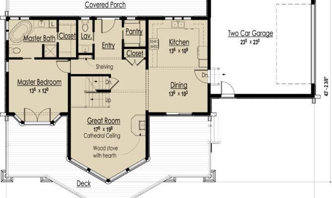 Log Home Design Plans Designs Floor