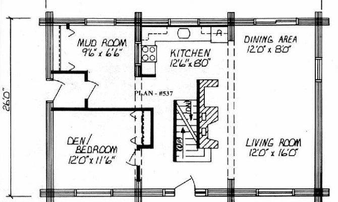 Log Home Floor Plan Square Feet