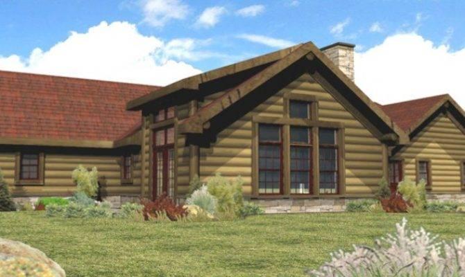 Log Home Floor Plans Homes Tomahawk