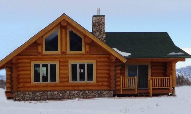 Log Home Floor Plans Loft Cabin