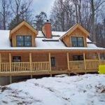 Log Home Front Porch Dream Pinterest