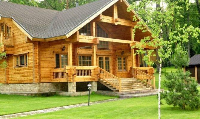 Log Home Front Porch Future Pinterest