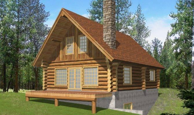 Log Home Plans Loft Smalltowndjs