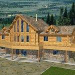 Log Home Plans Square Feet Crazy