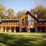 Log Home Plans Walkout Basement