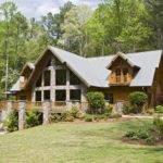 Log Home Stone Prowl Pinterest