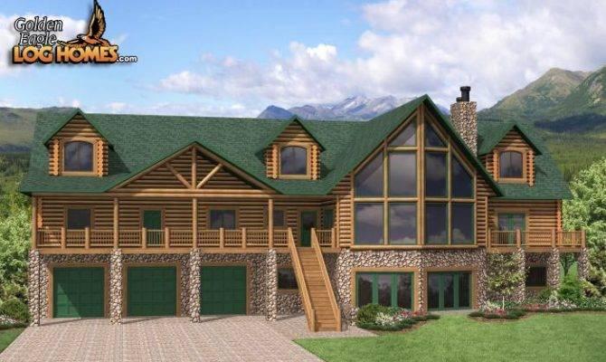 Log Homes Home Floor Plans Cabins Golden Eagle