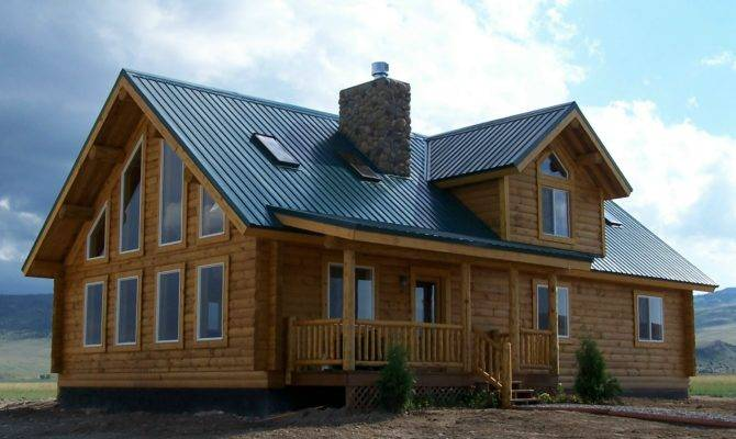 Log Homes Square Feet Cowboy