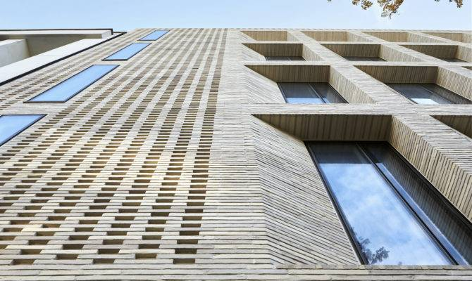 London Building Uses Brick Cladding Rather Than Structure