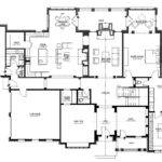Long House Plans Floor Plan First Story