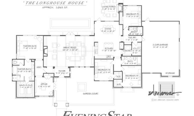 Longhouse Plans Floor