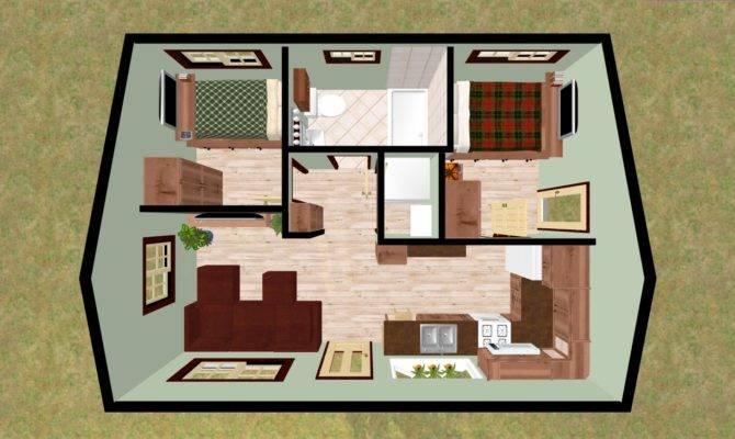 Looking Perfect Small Bedroom Cabin Retreat Cozy
