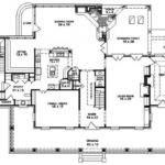 Louisiana Plantation Style House Plan Plans Floor Home