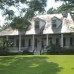 Louisiana Raised Cottage Home Plans