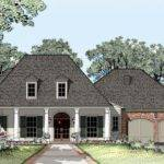 Louisiana Style House Plans Plantation Home Acadian