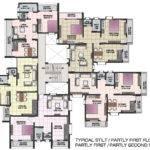 Lovely Apartment Blueprints Floor Plans