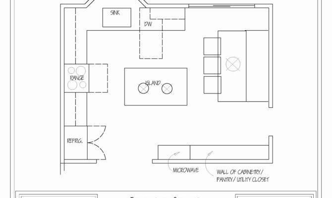 Lovely Kitchen Floor Plans Home Idea