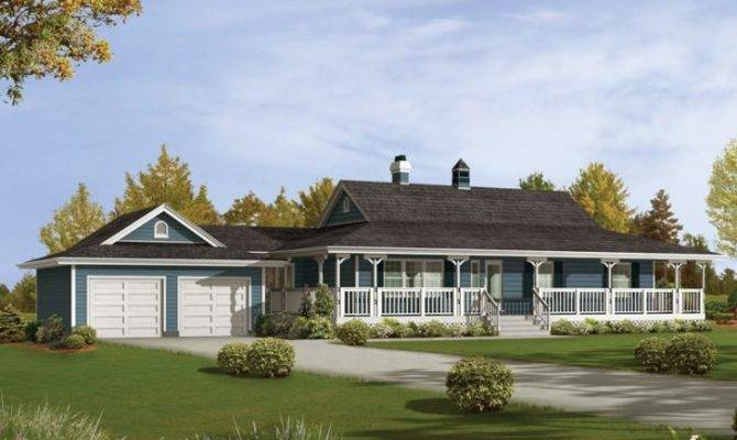 Lovely Ranch House Plans Wrap Around Porch New Home