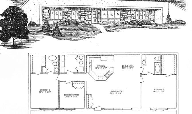 Lovely Underground Home Plans House