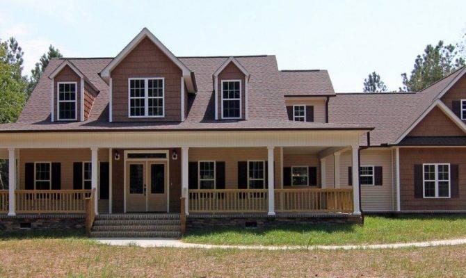 Low Country Farmhouse Plan Wrap Around Porch
