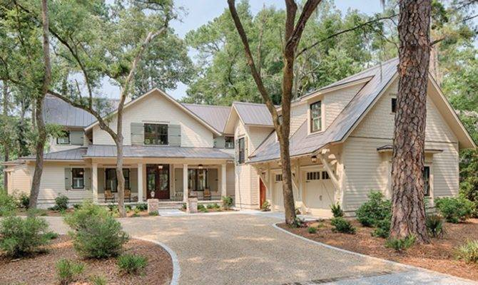 Low Country House Plan Efficiently Design Style