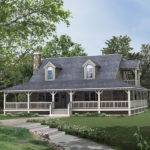Lowcountry Home Style Deep Wrap Around Covered Porch