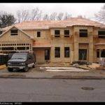 Lumber Used Building Wooden House Massachusetts Usa