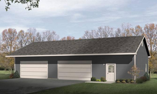 Lumina Four Car Garage Shop Plan House Plans More