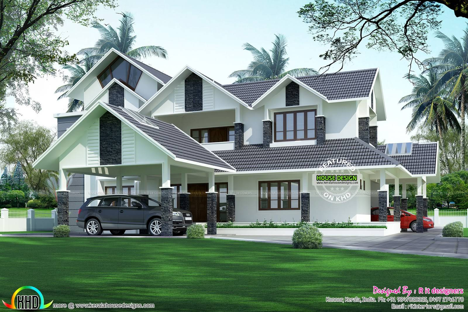 Luxurious Car Porch House Kerala Home Design Bloglovin Home Plans Blueprints 126280