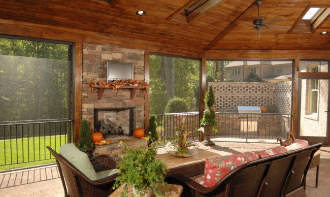 Luxurious Covered Patio Ideas