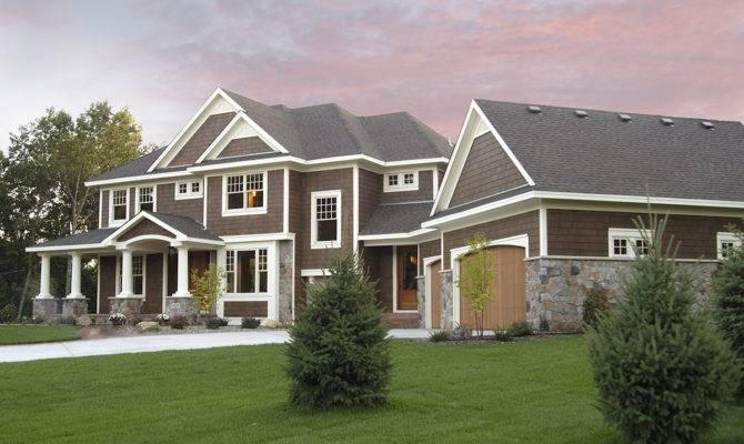 Luxurious Craftsman Home Plan Architectural
