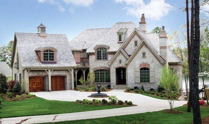 Luxurious French Country Architectural Designs
