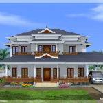Luxury Bedroom Kerala Style Home Design House Plans