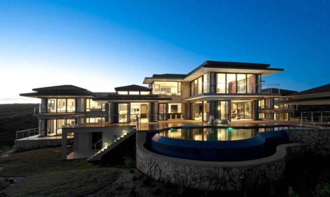 Luxury Contemporary Modern South Africa House