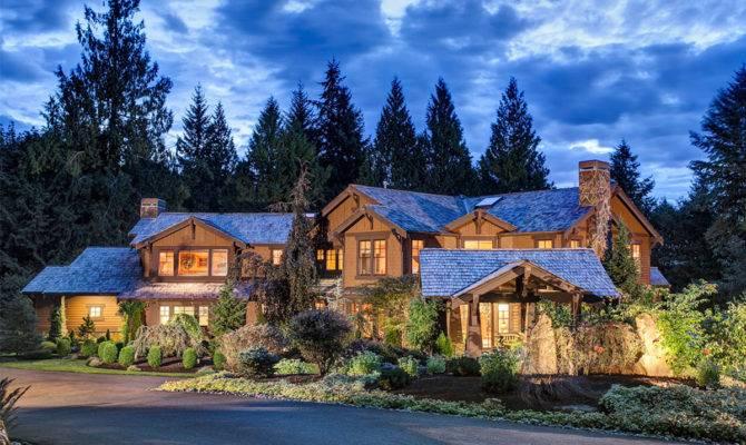 Luxury Craftsman Dream Home Plan Architectural