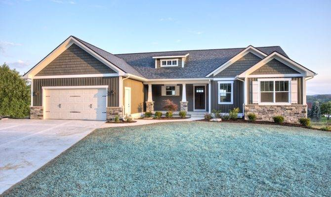 Luxury Craftsman One Story House Plans Models